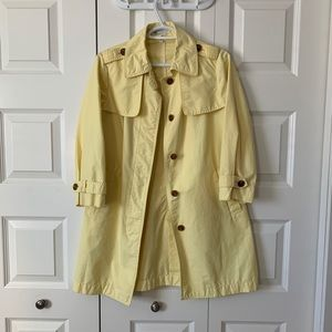 Cutest spring trench peacoat